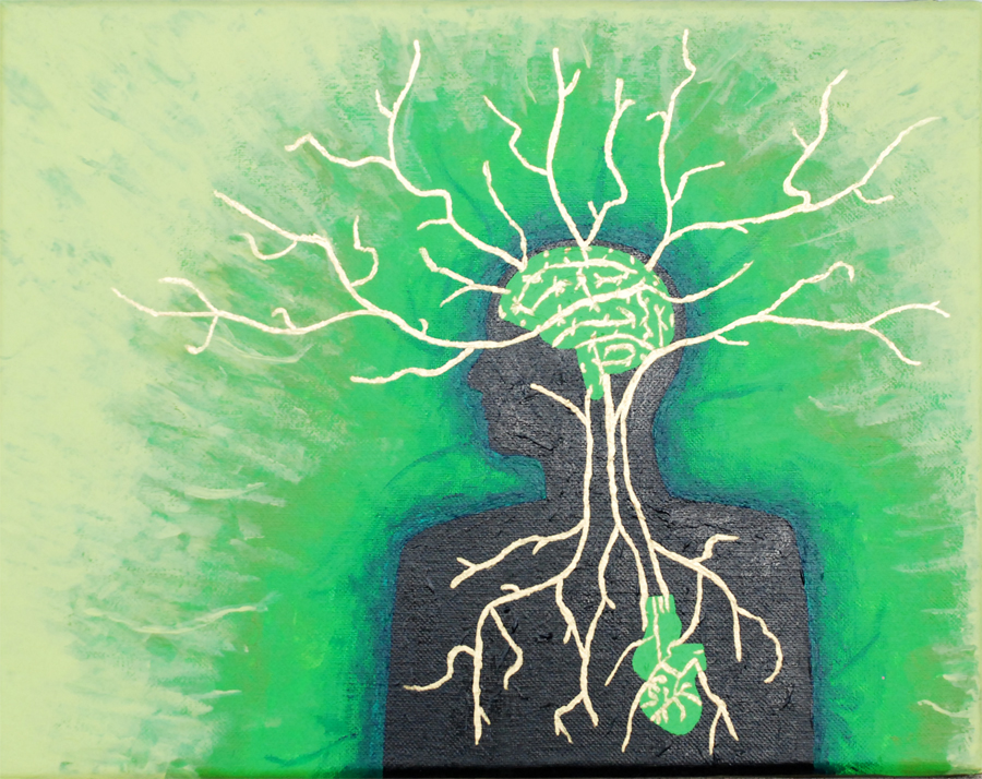 A Tree of Life © 2010 NATE METZ - acrylic on canvas